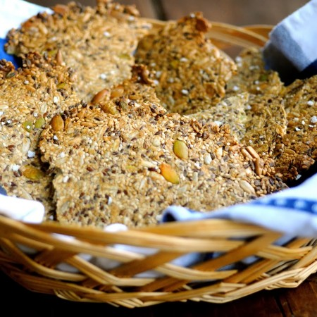 Crispbread with Flaxseed Meal