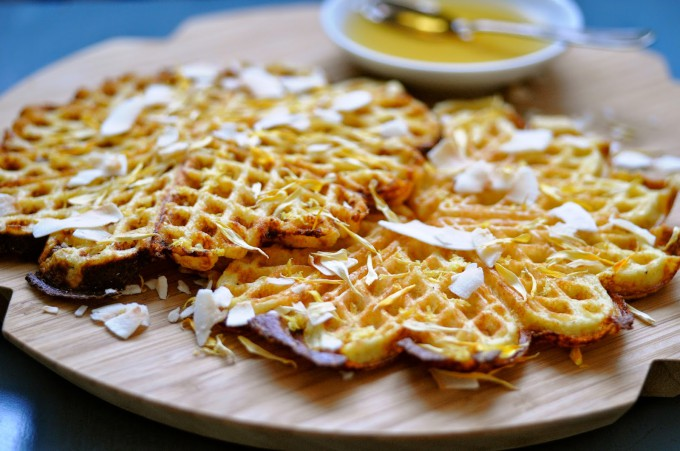 Almond Waffles with Lemon & Chia Seeds recipes healthy desserts breakfast recipes httpwww karlasnordickitchen combread and cakes    %|www.karlasnordickitchen.com