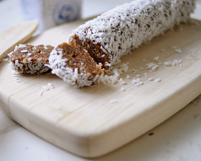 Date and Coconut Roll