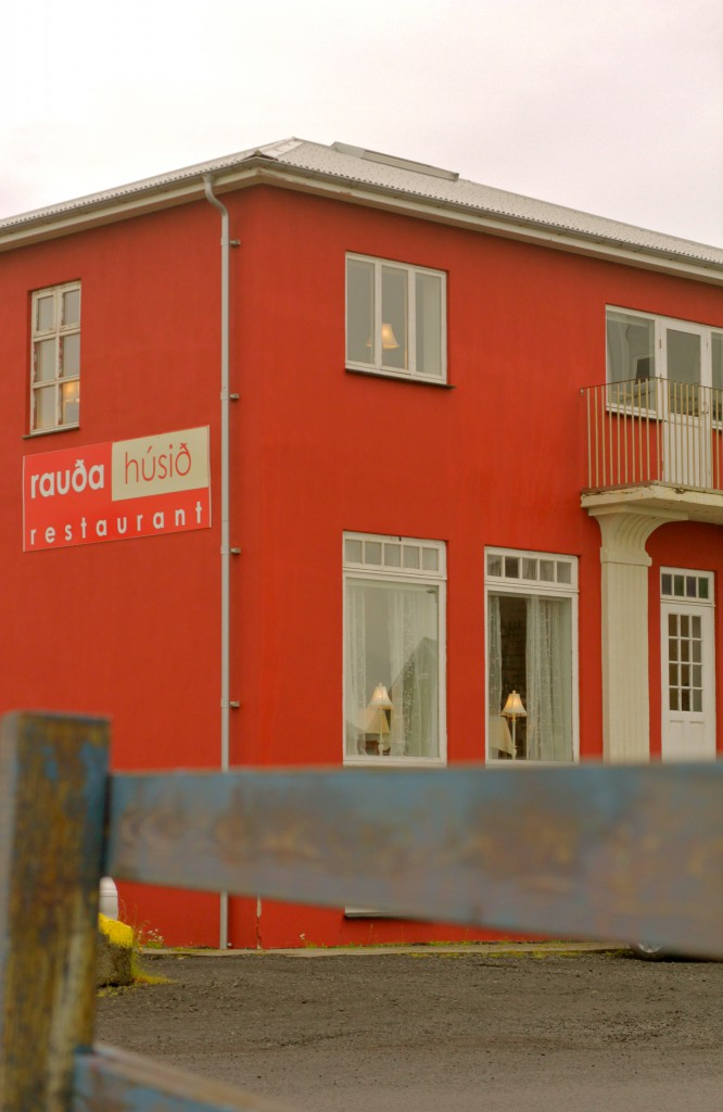 REVIEW OF THE RED HOUSE RESTAURANT IN EYRARBAKKI, ICELAND