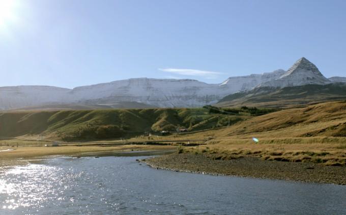 Hvalfjordur Iceland salmon river Nature photography
