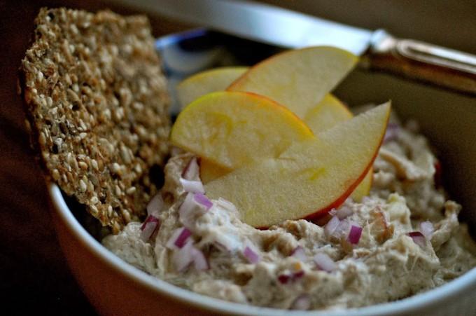 Mackerel Salad with Apple | www.karlasnordickitchen.com
