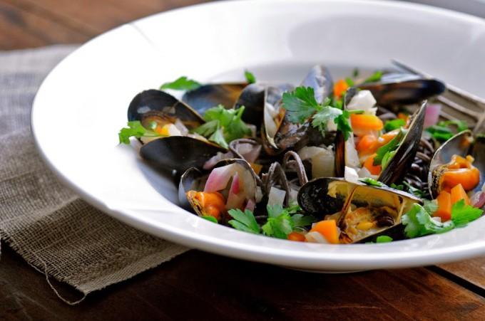 mussels in cream sauce | www.karlasnordickitchen.com