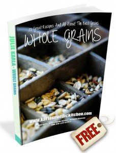 Marketing image - whole grains cookbook