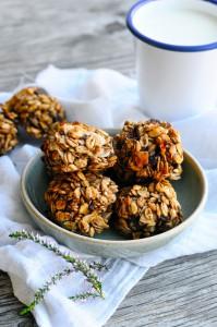 Whole grain cookies with cinnamon   www.karlasnordickitchen.com