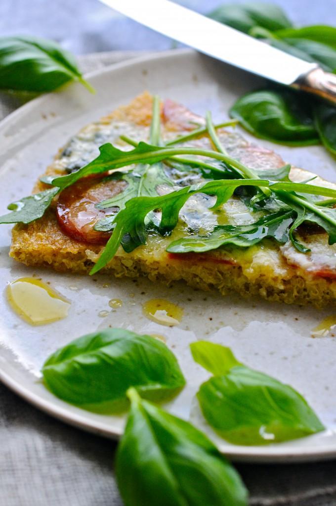 Gluten-free pizza | www.karlasnordickitchen.com
