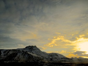 sunset in Iceland - Nordic Cuisine - Fall