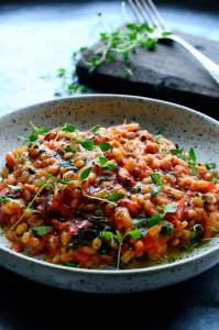 Pearl barley risotto | www.karlasnordickitchen.com