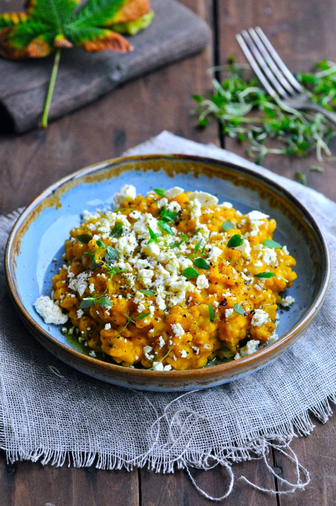Pumpkin risotto | www.karlasnordickitchen.com