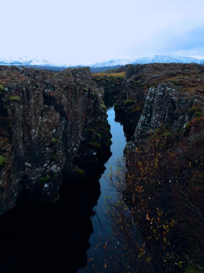 Rocky river Iceland
