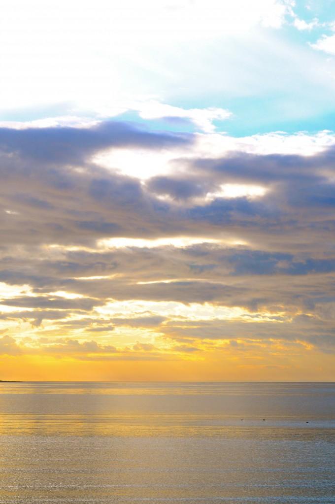 Nordic December Sunset
