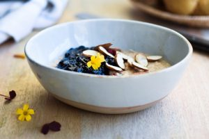 Blueberry chia jam refined sugar free