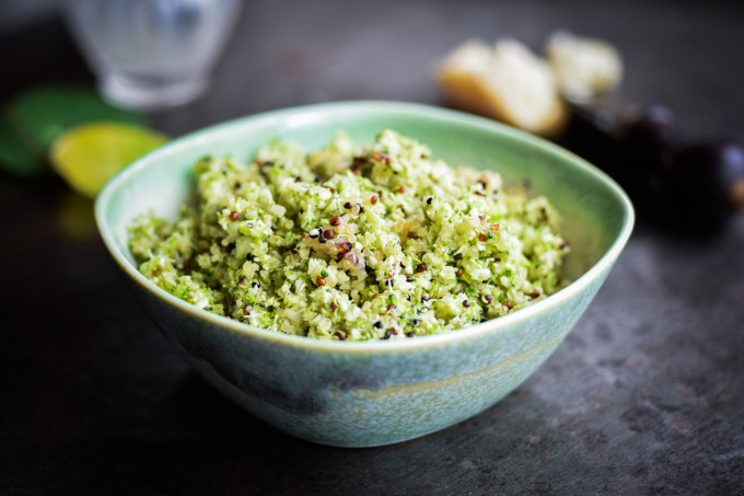 Healthy Broccoli couscous
