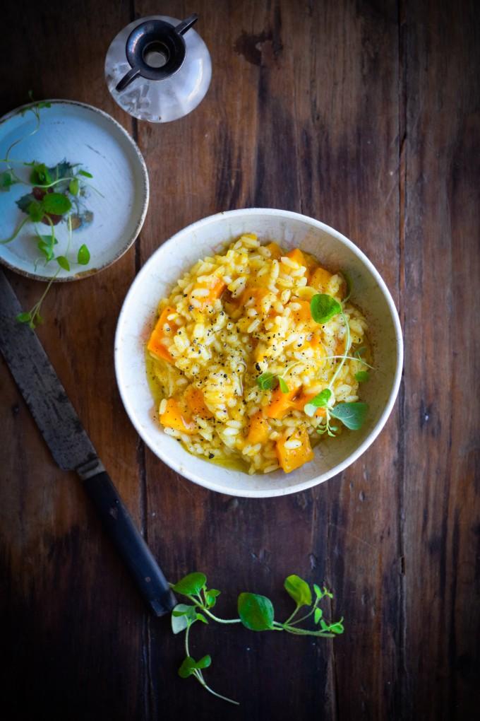 Pumpkin risotto recipe by Karlas Nordic Kitchen