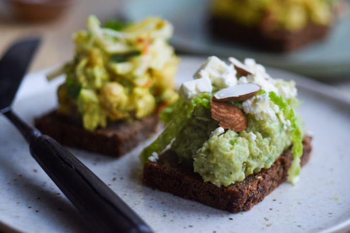 Recipe Danish open faced sandwiches