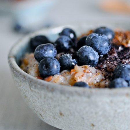 Porridge with whole grain rye