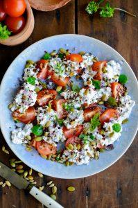 cottage cheese salad blog recipe