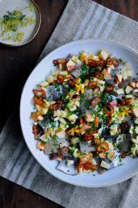 Pickled herring recipe from Denmark