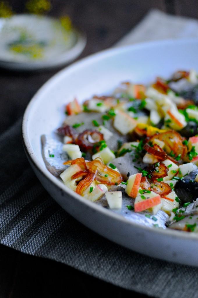 Danish Pickled herring recipe