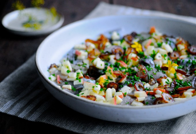 Scandinavian Pickled herring recipe
