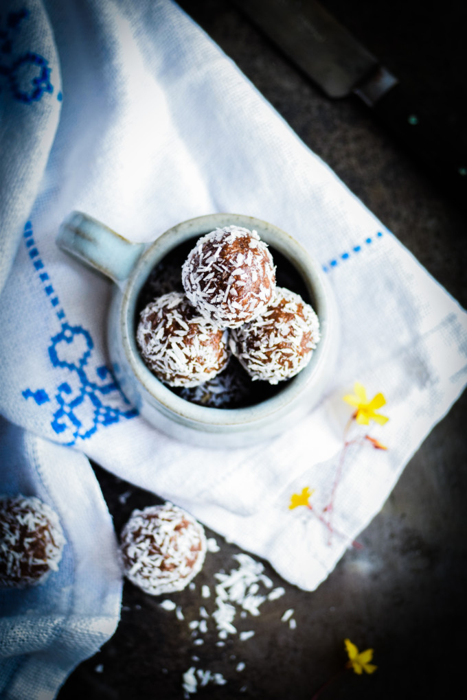 Recipe for Orange Date Energy Balls