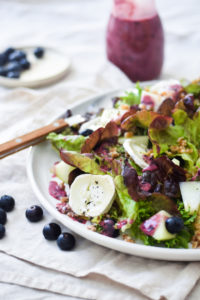 blueberry vinaigrette blog