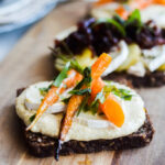 blog recipe open faced sandwich