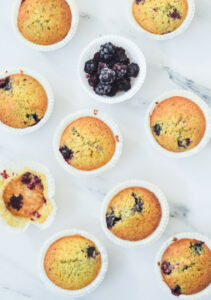 blog recipe blackberry muffins with coconut