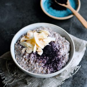 Overnight Chia Porridge with Rye