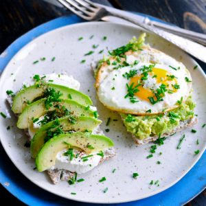 Healthy Avocado Breakfast
