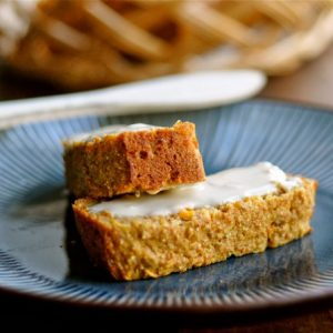 Sweet Carrot Bread with Rye Flour