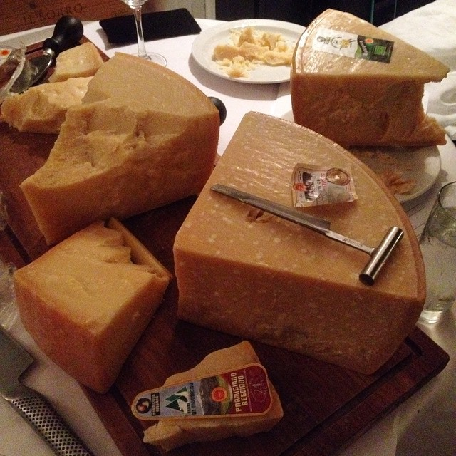 Cheese heaven #parmigianoreggiano #theonlyparmesan